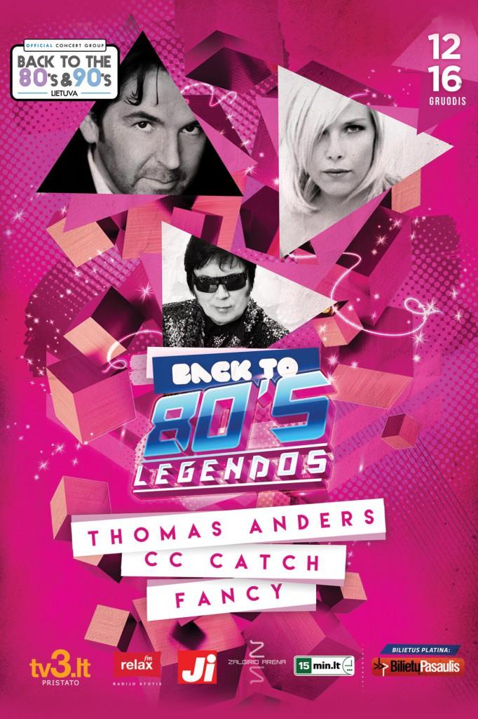 Back to 80s Legendos